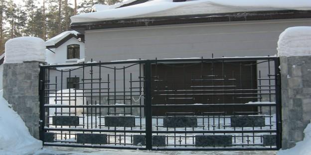 кованые заборы и ворота