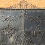 ворота распашные кованые цена