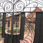 кованые ворота в новосибирске цена