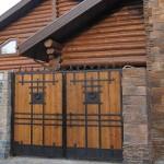 кованые двери ворота