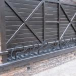 ворота кованые эконом