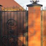 ворота художественная ковка цена