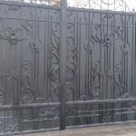 элитные кованые ворота цены