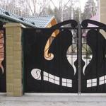 кованые ворота и заборы цены