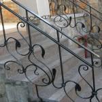 кованые перила для лестниц цены