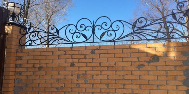 художественная ковка ограды
